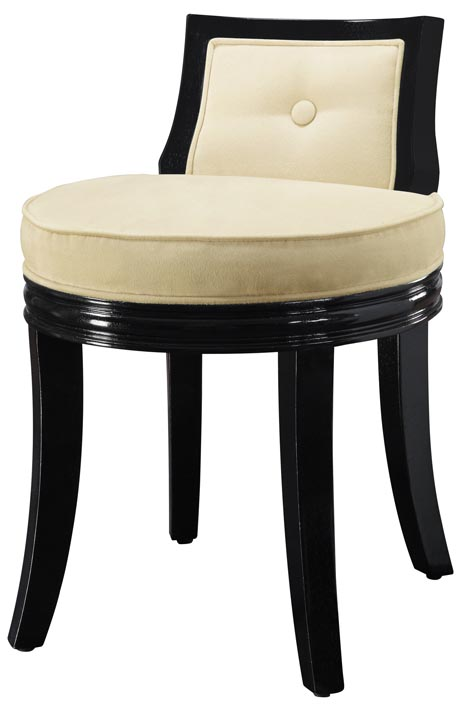 Stool, Tufted