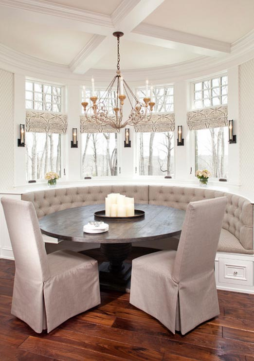 Residential Banquette Installations City Living Design Kitchen Furniture Dining Room