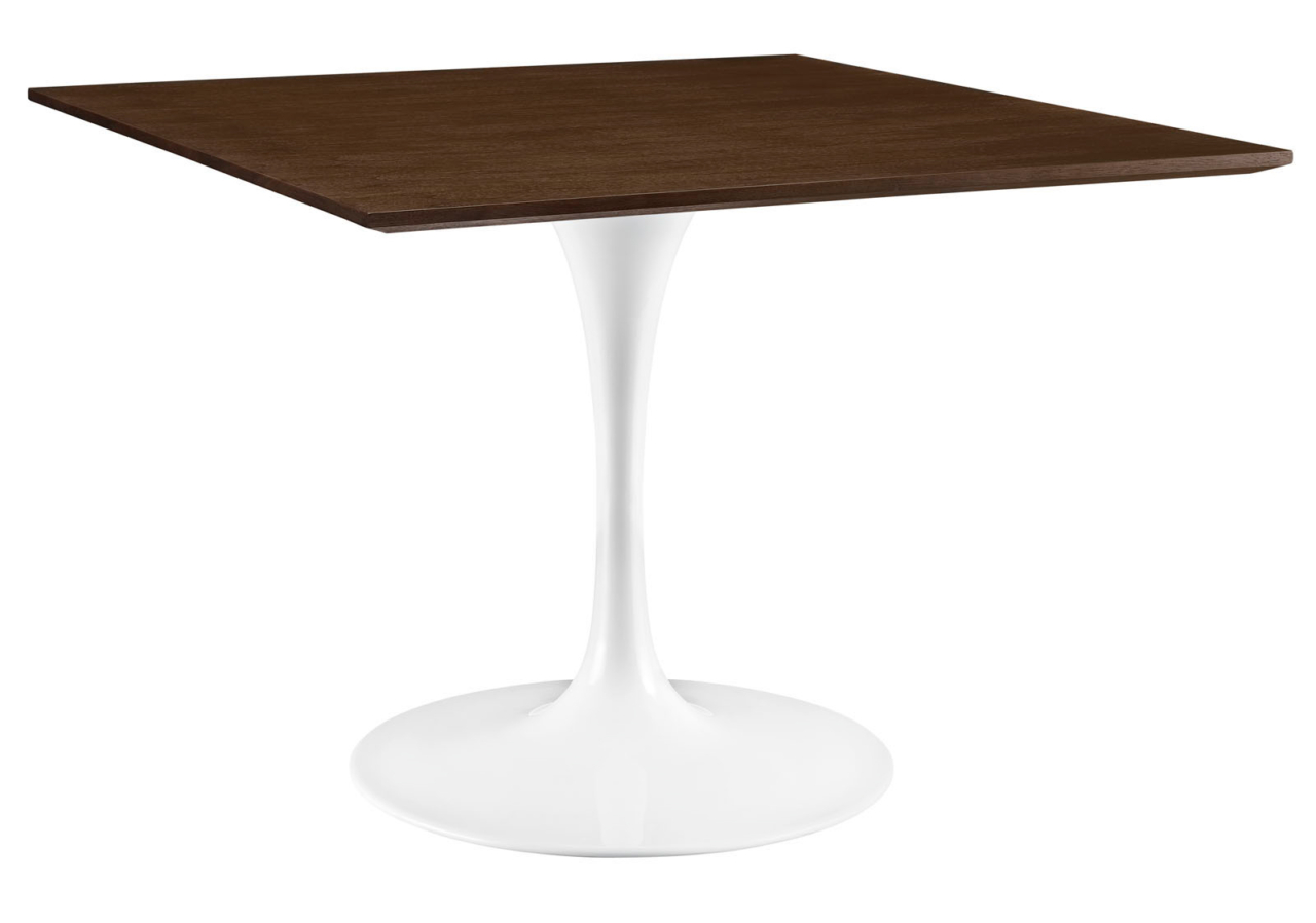 Modern dining table collection city living design city living design anabel 40 square walnut dining table watchthetrailerfo