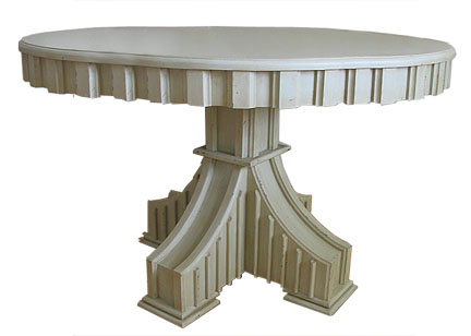 Positano Round Pedestal Dining Table