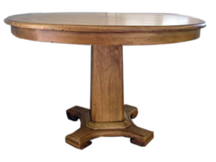 Tuscany Round Pedestal Dining Table