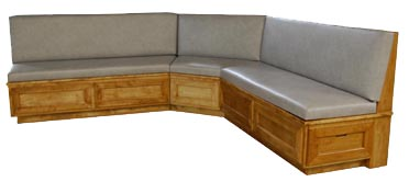 Cypress Wood Banquette