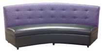 Gamma Curved Banquette