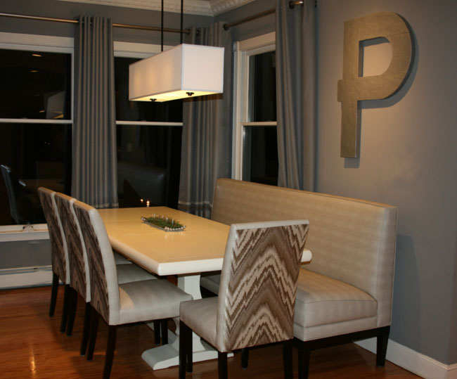 Jackie P Dining Banquette