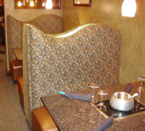 Melting Pot Restaurant Booth