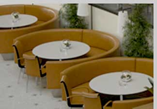 Circle Booth Outdoor Terrace