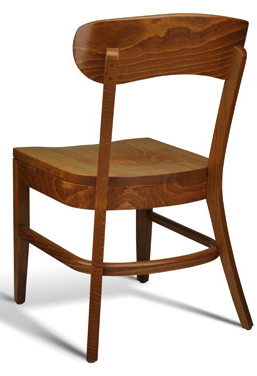 Restaurant Wood Stacking Dining Chair