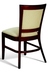 Stacking Upholstered Dining Arm Chair Hospitality Restaurant Residential
