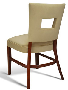 Stacking Upholstered Dining Chair Hospitality Restaurant Residential