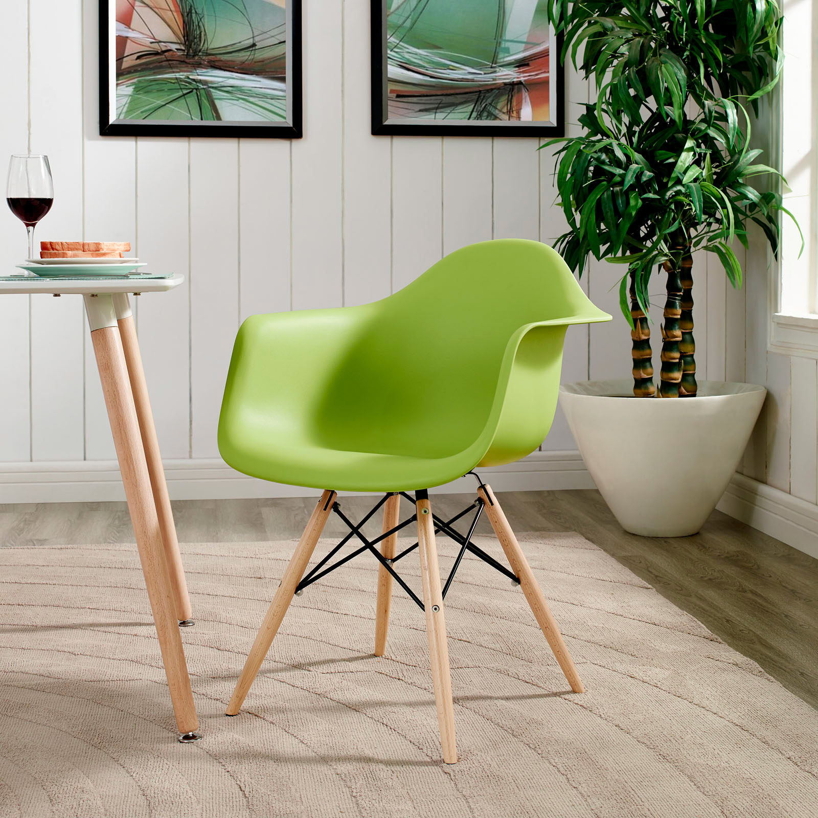 Pulse Armchair Green