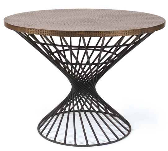 Round Hammered Table