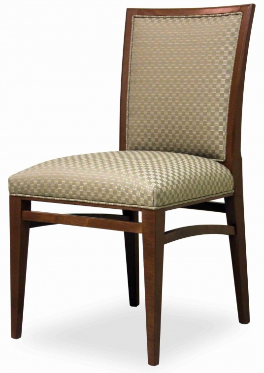 Fully Upholstered Dining Chair Hospitality Restaurant Residential