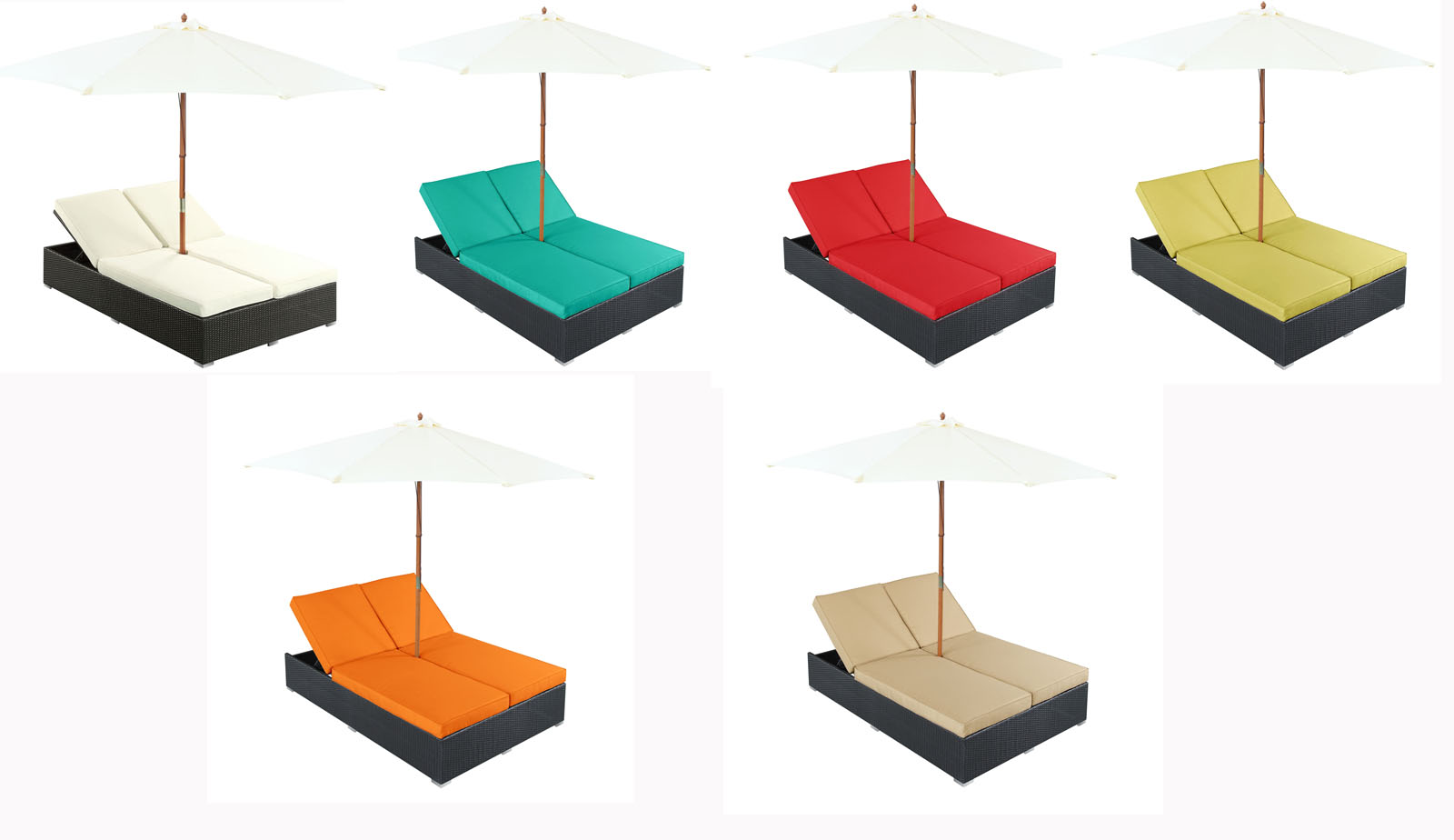 Acapulco outdoor chaise city living design city living for Chaise design colore