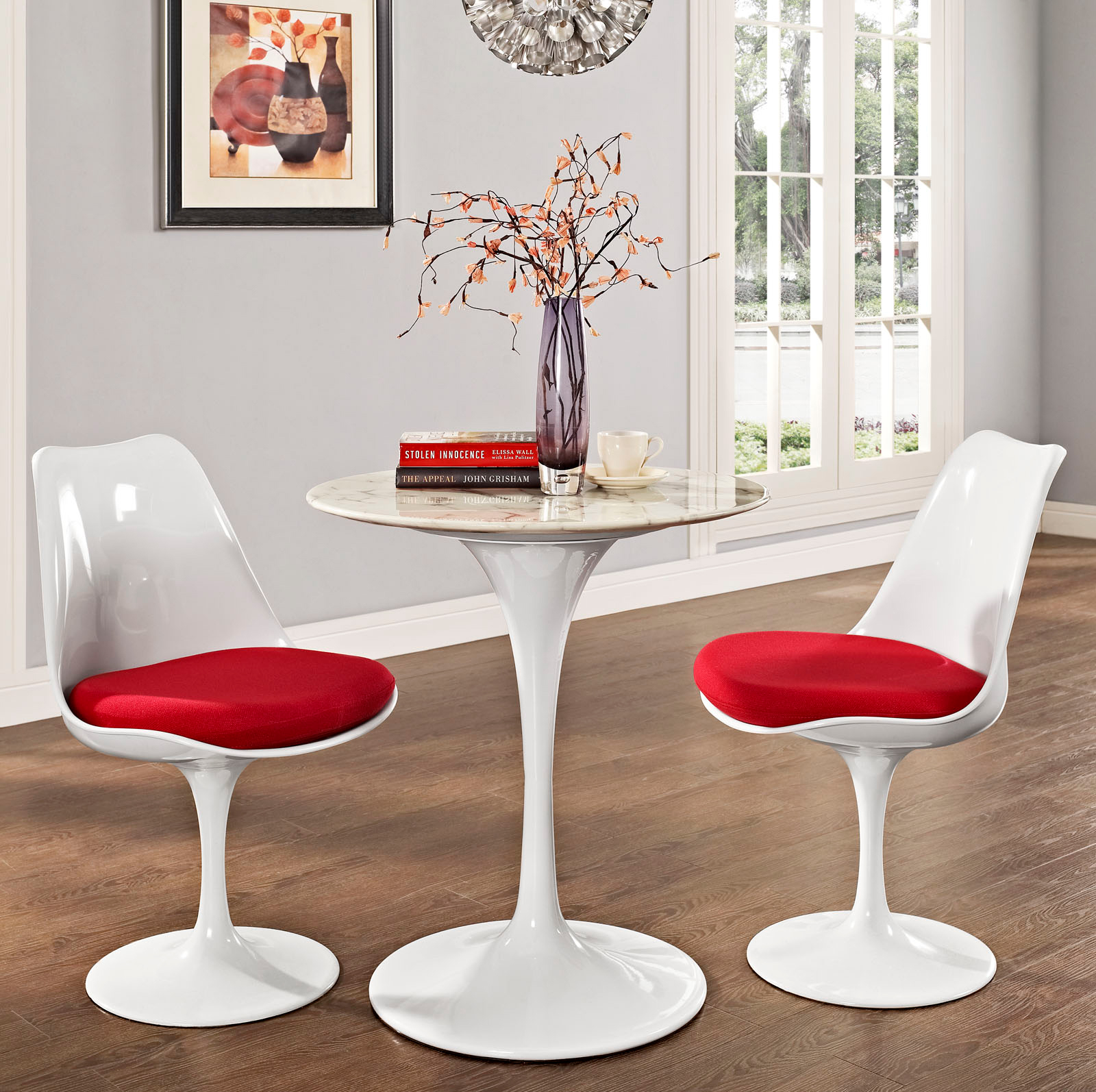 Anabel 28in Artificial Marbe Dining Table1