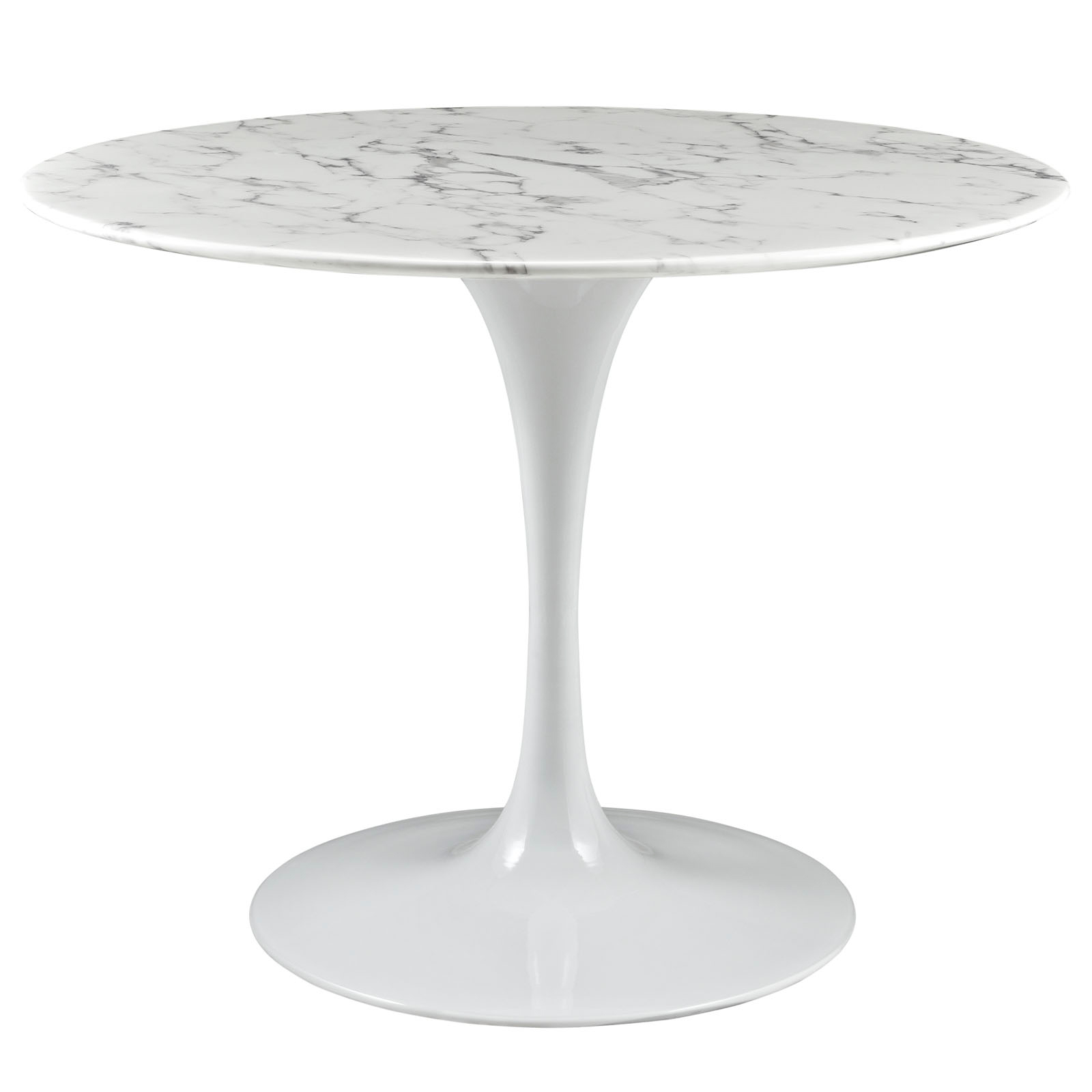 Anabel 40in Artificial Marble Dining Table1