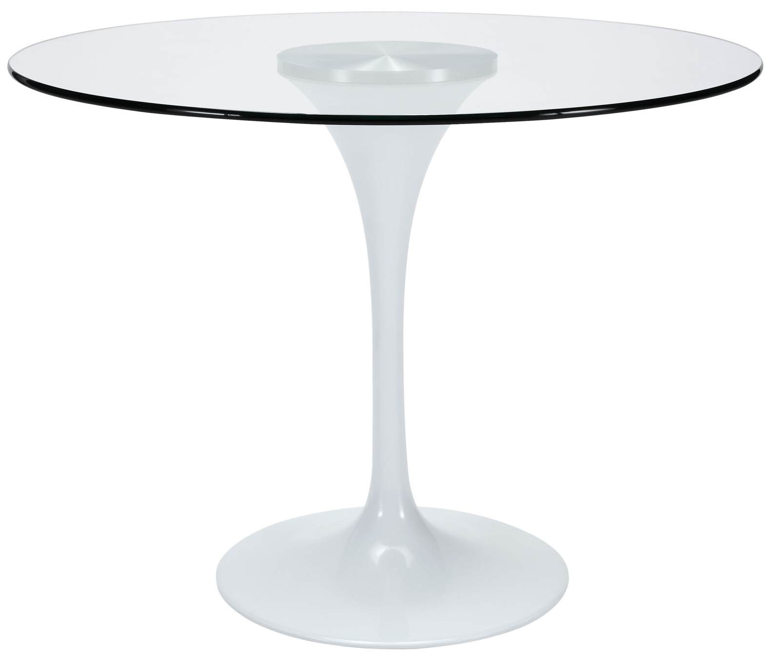 Anabel 40in Glass Dining Table