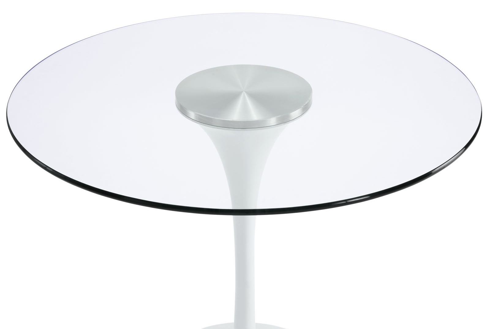 Anabel 40in Glass Dining Table2