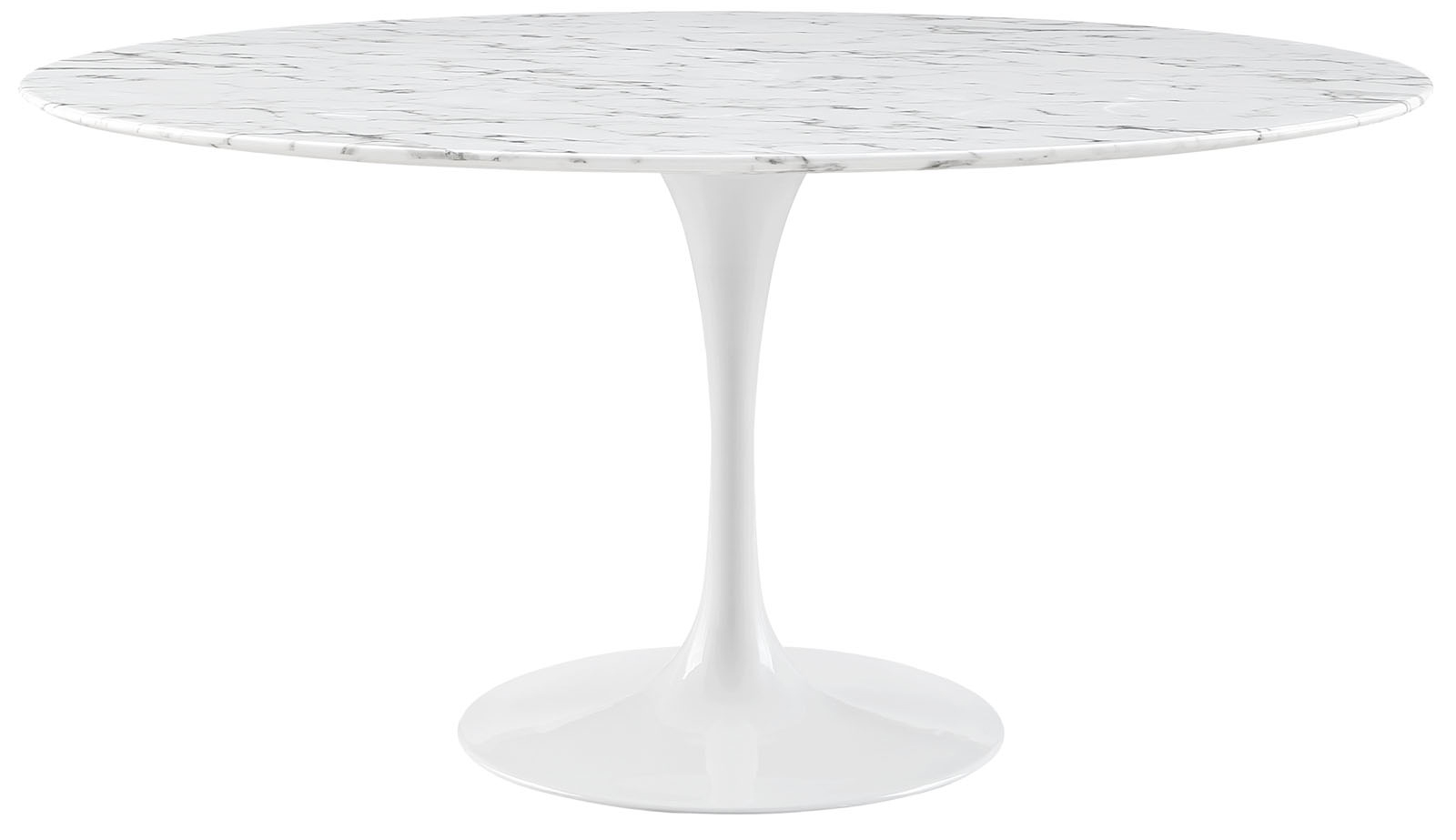 Anabel 60In Marble Dining Table