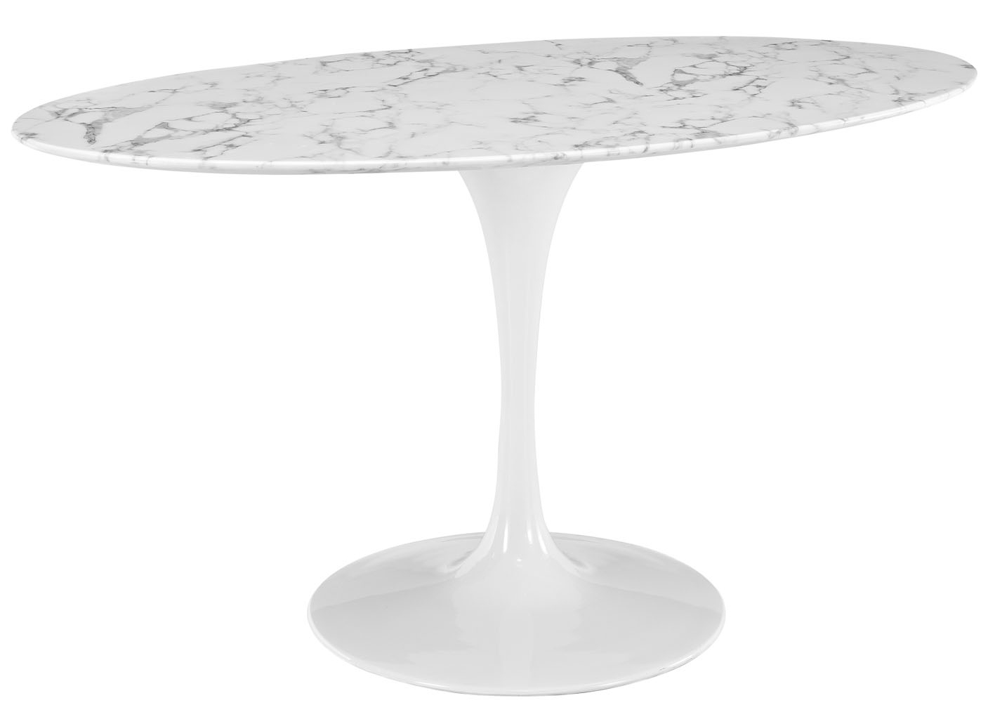 Anabel 60in Artificial Marble Dining Table2