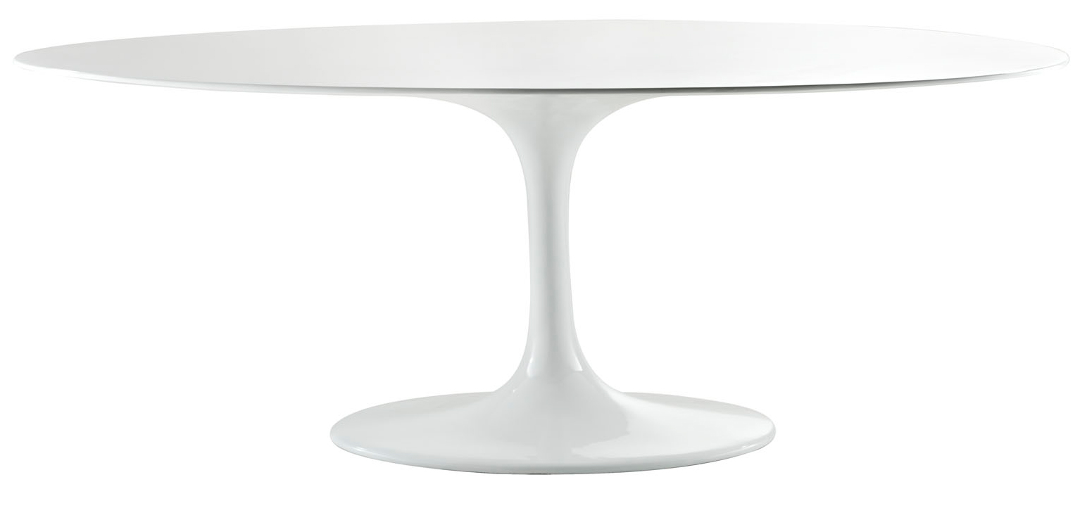 Anabel 78in Fiberglass Dining Table
