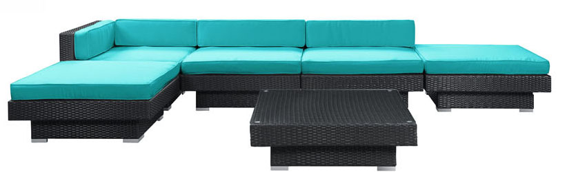 Laguna 6PC Outdoor Patio Sectional set