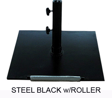 Steel Black with Roller