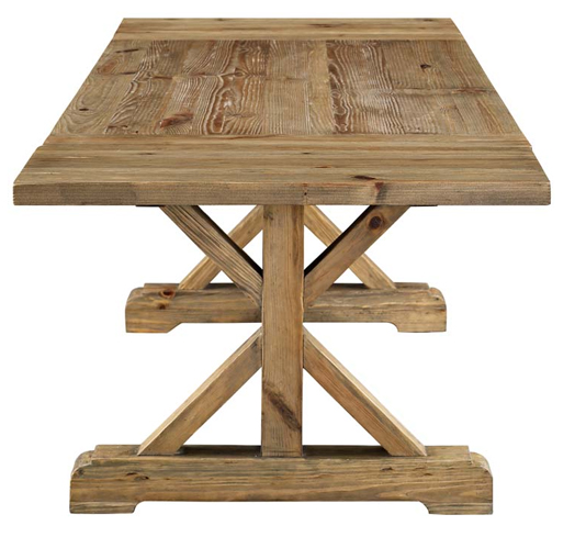 Stefan Extendable Wood Dining Table