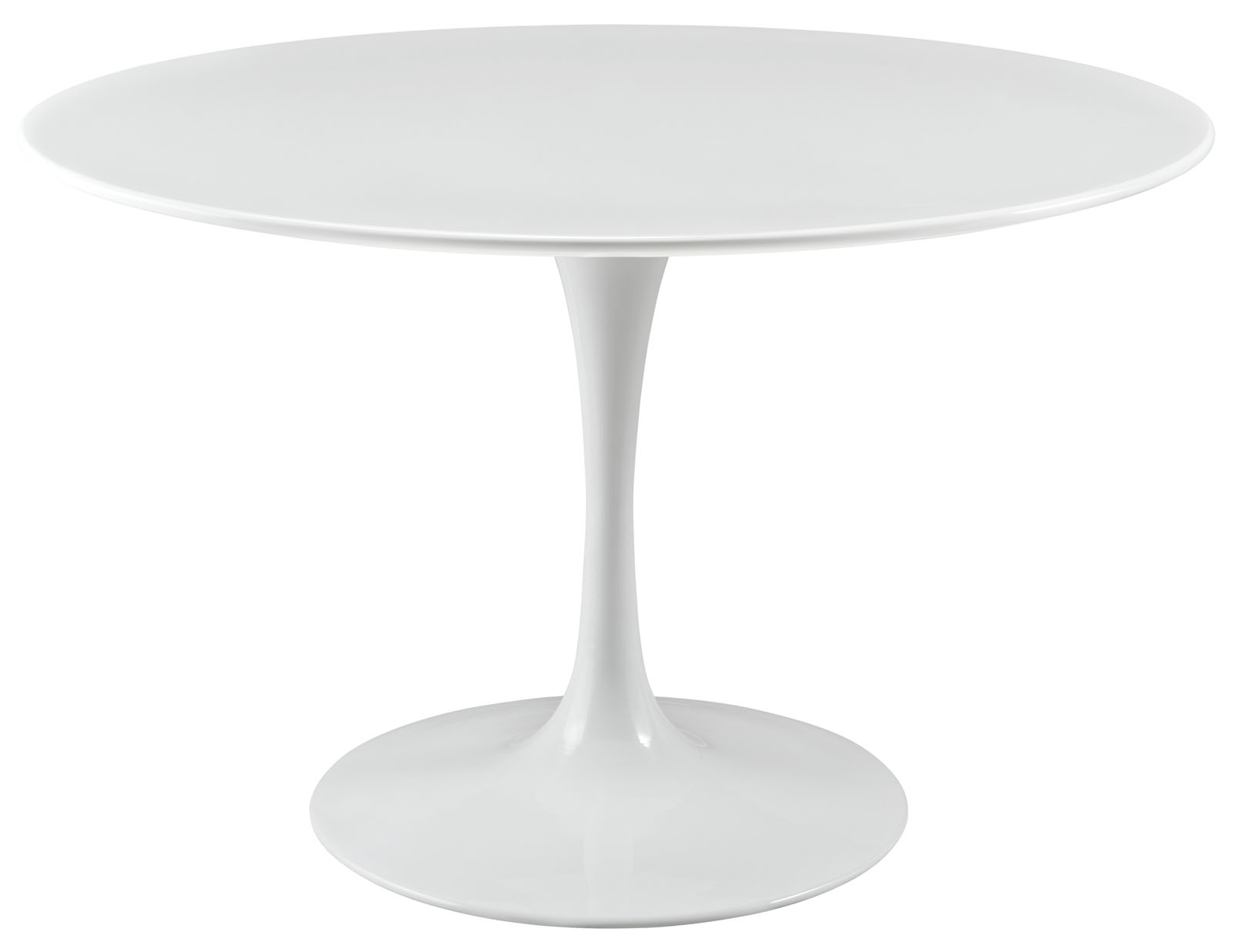 Anabel 47in Wood Top Dining Table 47 Round