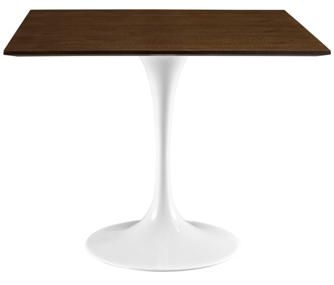 Anabel 36 Square Walnut Dining Table