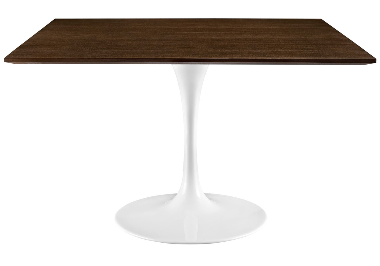 Anabel 47 Square Walnut Dining Table